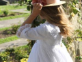 Vestido de comunión de plumeti blanco, vestidos de comunión exclusivos.JPG