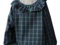 camisa de cuadros escoceses para niño, camisa de cuadros escoceses bebe, cuadros escoceses para bebe, camisa de volantes para niños1 - copia.jpg