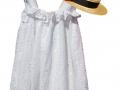 vestido bordado blanco, vestido para niña bordado, vestido blanco bordado para niña, tienda online de moda infantil santander, moda infantil online, vestido bordado