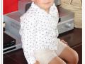 pantalon corto de lino, camisa de estrellas para niño, tienda online de moda infantil, moda niños online, ropa para niño - copia
