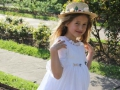 Vestido de comunión con canotier para niña , vestido de comunión de plumeti, diseño de moda infantil exclusiva, moda infantil online.JPG