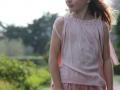 Faldas para niñas, tienda online ropa niña, Falda de tul rosa palo, falda para niña rosa empolvado, conjunto para niña en color rosa, tienda online de moda infantil, ropa para niña.jpg