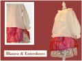Moda de niña, falda chanel,camisa plumeti