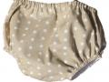 braguita cubrepañal de estrellas beige, tienda online ropa bebe, regalos para bebe, tienda moda infantil santander.jpg