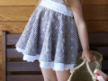 vestido cuadros de vichy para niñas, vestido vichy niña, vestido cuadros niña, vestido verano niña