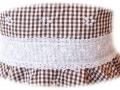 vestido cuadros de vichy niña con entredos blanco, vestido para niña exclusivo, diseño exclusivo de moda infantil, ropa de niña online, venta online de ropa para niños.jpg