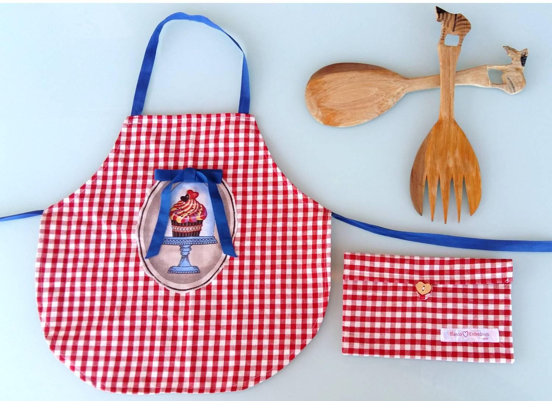 Delantales para cocina con dise o casa dise o for Delantales para ninos cocina