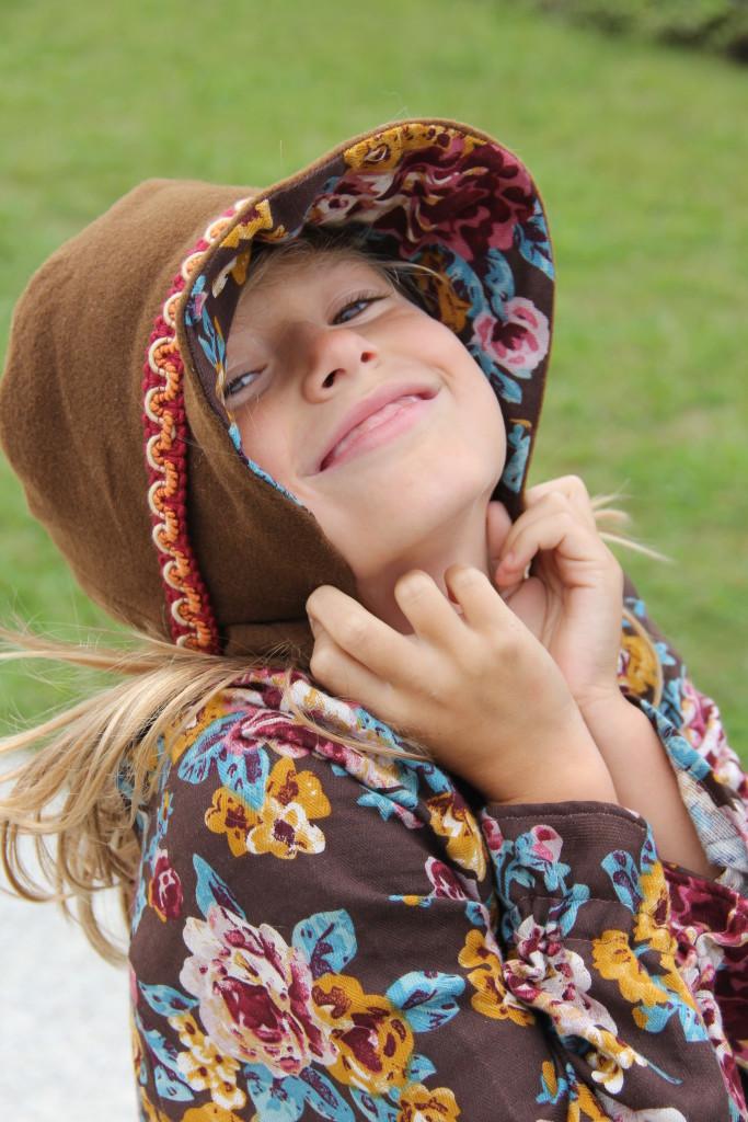 Sombrero de invierno para niña,
