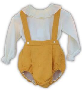ranita de bebe color mostaza