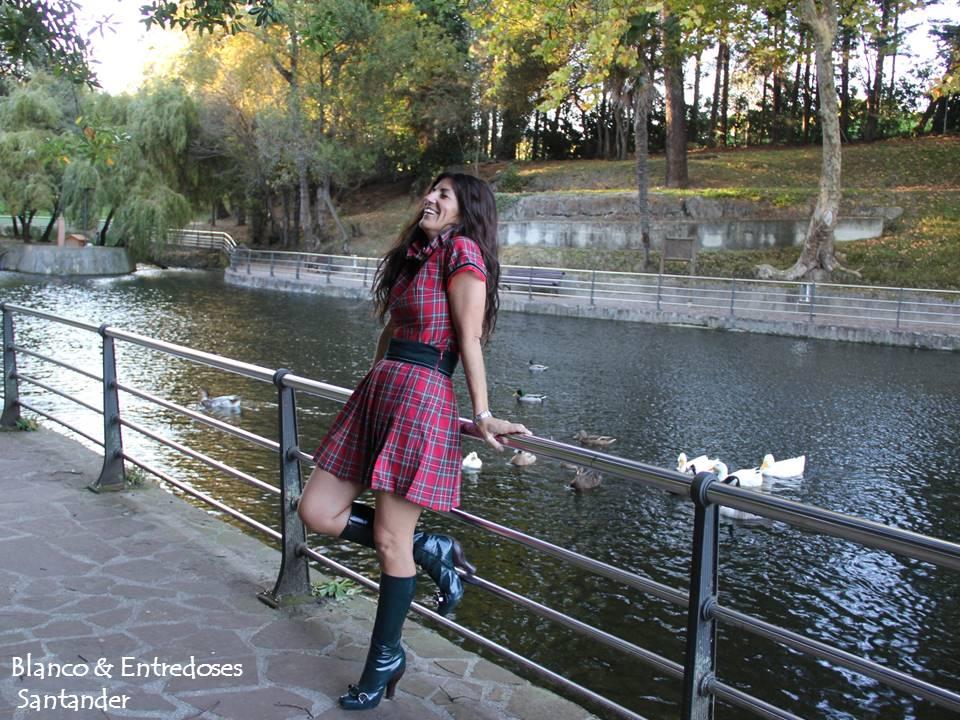 vestido cuadros escoceses, vestido de tartan mujer, tienda online moda infantil