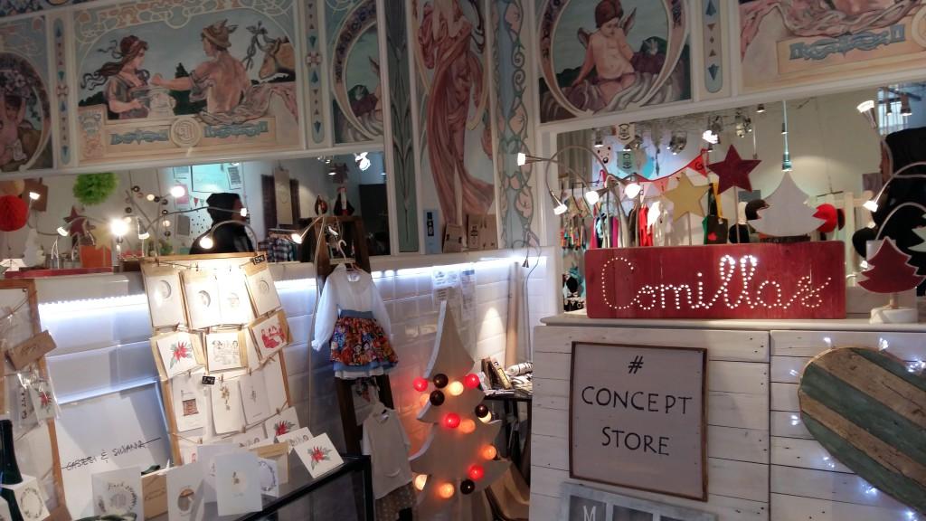 Blanco y entredoses en Comillas Concept store, tienda efimera en madrid (13)