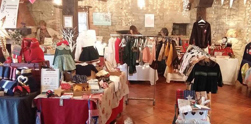 Mercadillo Navideño en La Posada de Santa Ana, B&E moda infantil en Suances