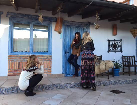 Paula Echevarría y Marta Hazas estuvieron aquí haciéndose unas fotos estas navidades