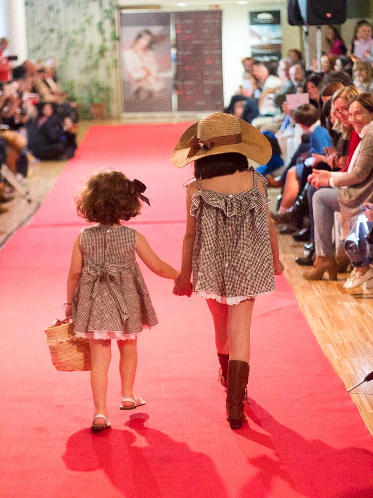 vestido verano niña, vestido tirantes marron niña, vestido niña vichy marrón (3)