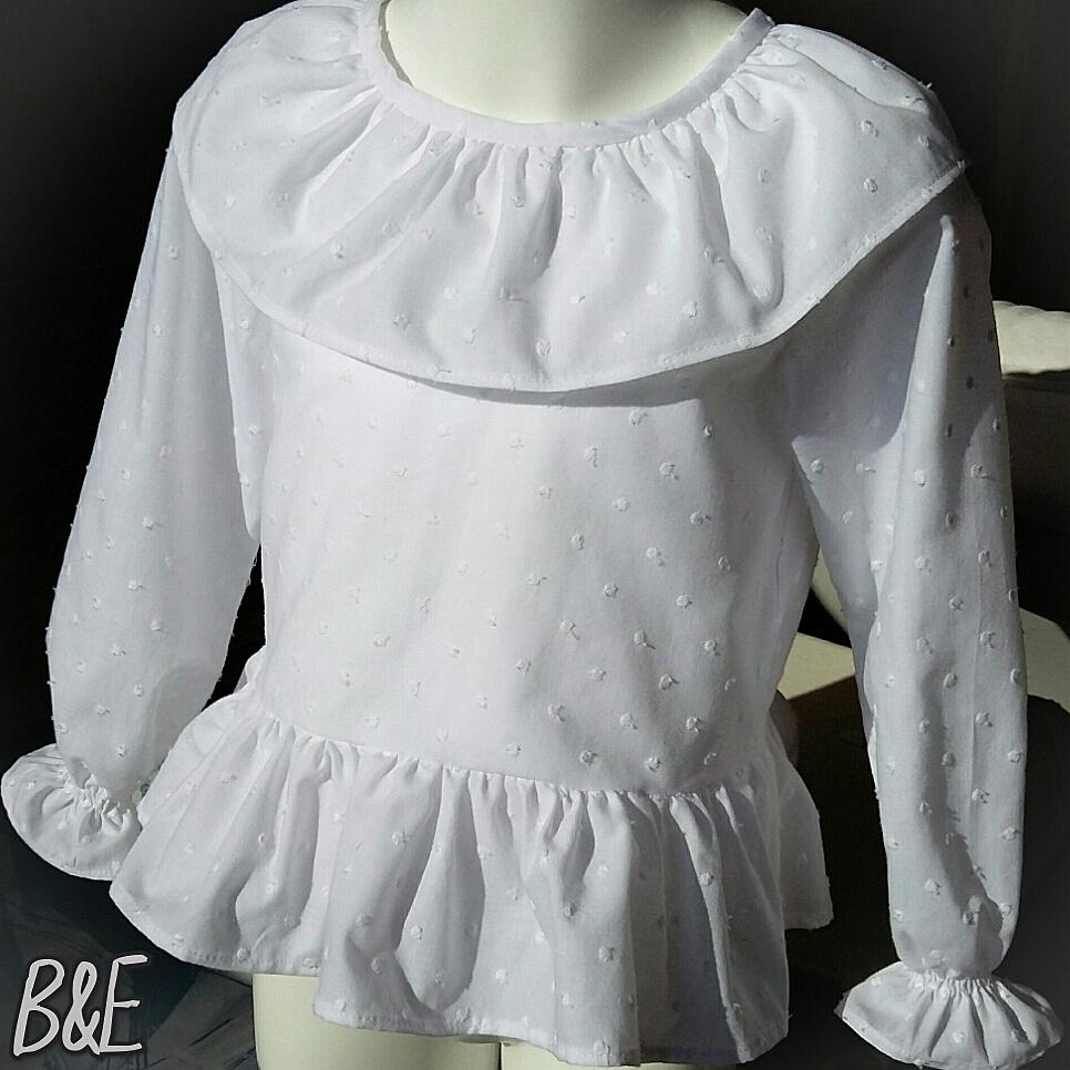 f6bcdc2bd Camisa de plumeti blanca