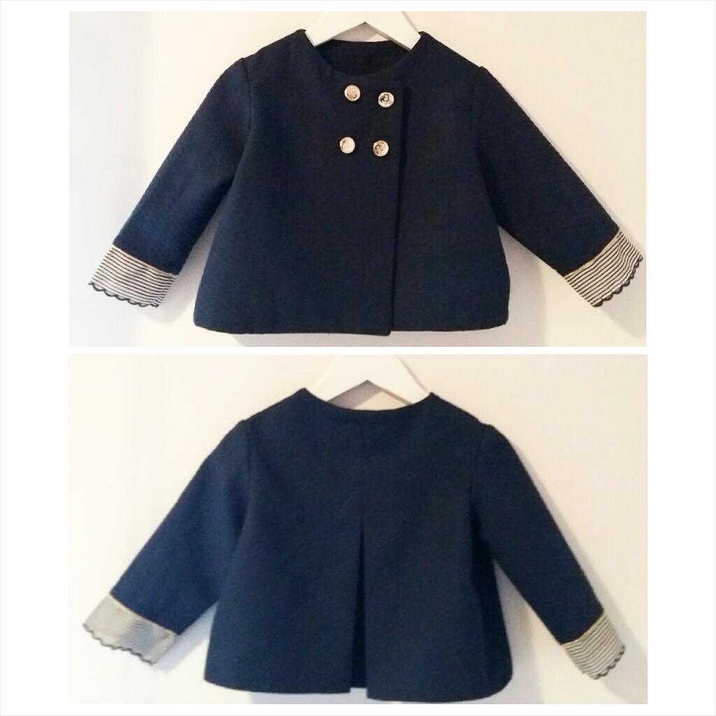 chaqueta marinera de niña, chaqueta de niña azul marino online, coleccion verano 2016 niña