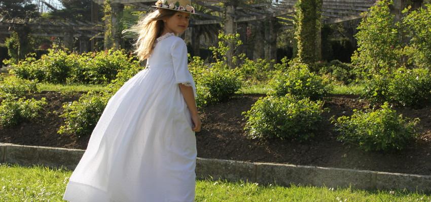 Diseño y Confección de vestidos de comunión exclusivos