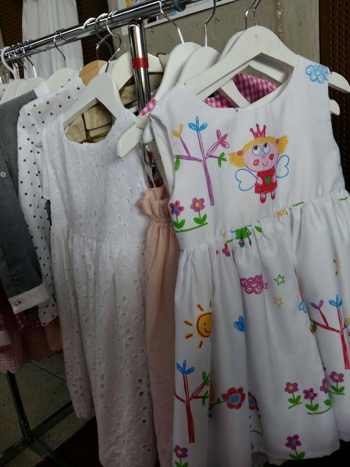 vestido blanco para niña online, vestidos exclusivos niñas