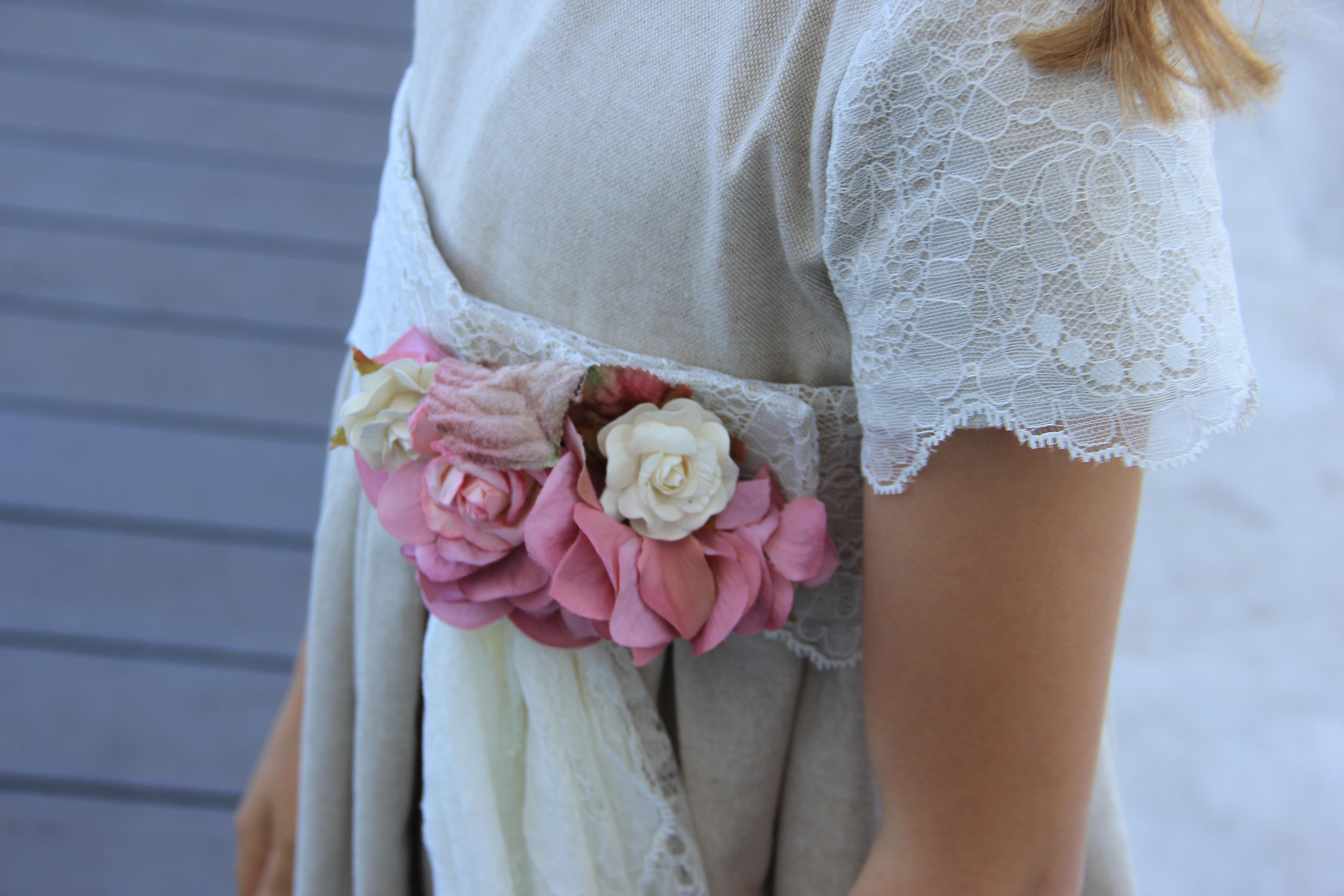 detalle vestido comunion