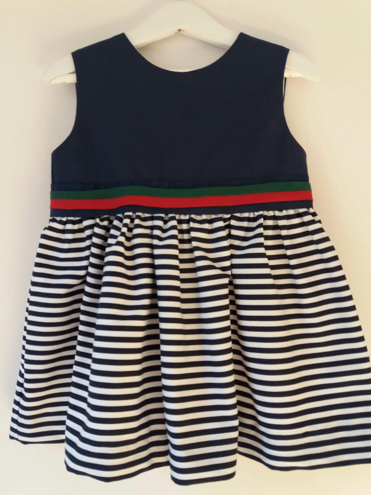 Vestido Marinero Combinado