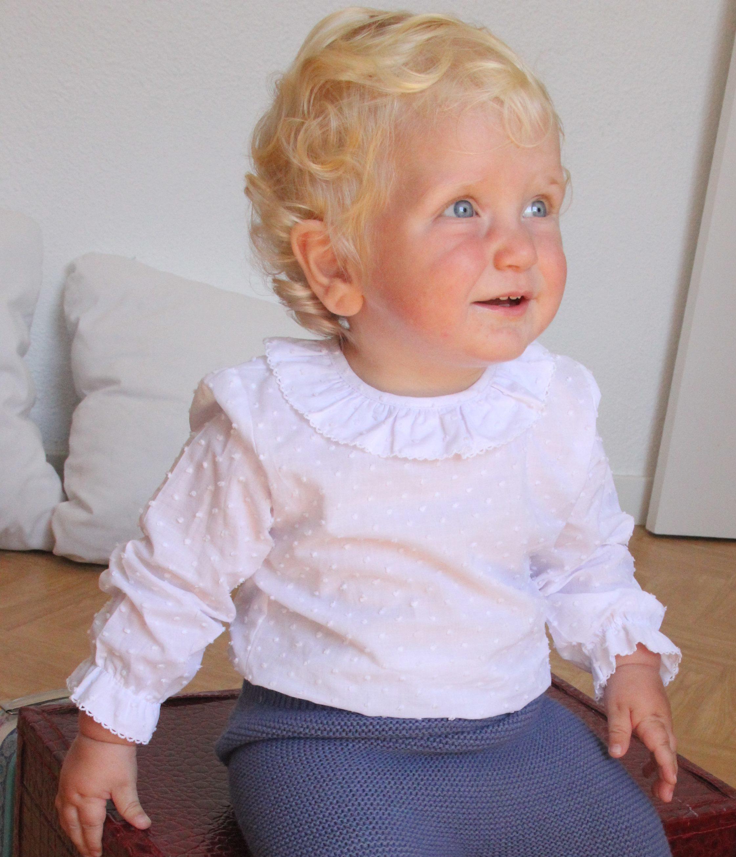 9957b805f47d Camisa de plumeti blanca