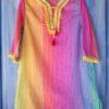Kaftan para niña rainbow