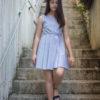 vestido para eventos juveniles, vestido marinero chica